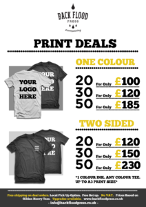 Back Flood Press | Print Deals