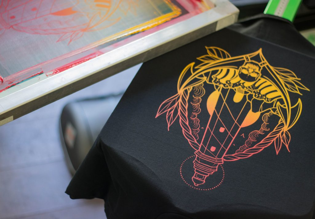 screen printing, screen print, clothing brand, clothing, tattoo, tattoo art, swansea, highwater hoodlums, design, merch, south wales, hand printed, clothing, t-shirts